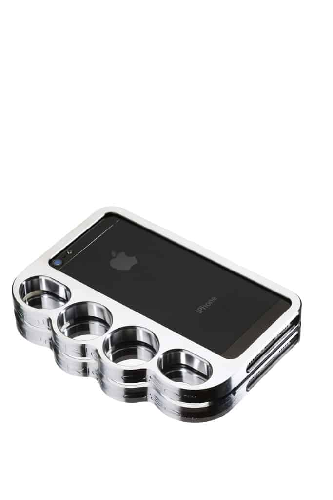 Original Solid Machined Aluminum Knucklecase Silver  Buy Fashion Accessory for Self Defense