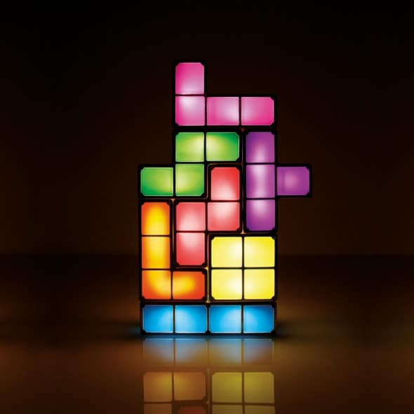 Paladone Tetris Light Desk Lamp Cool Stuff to Buy