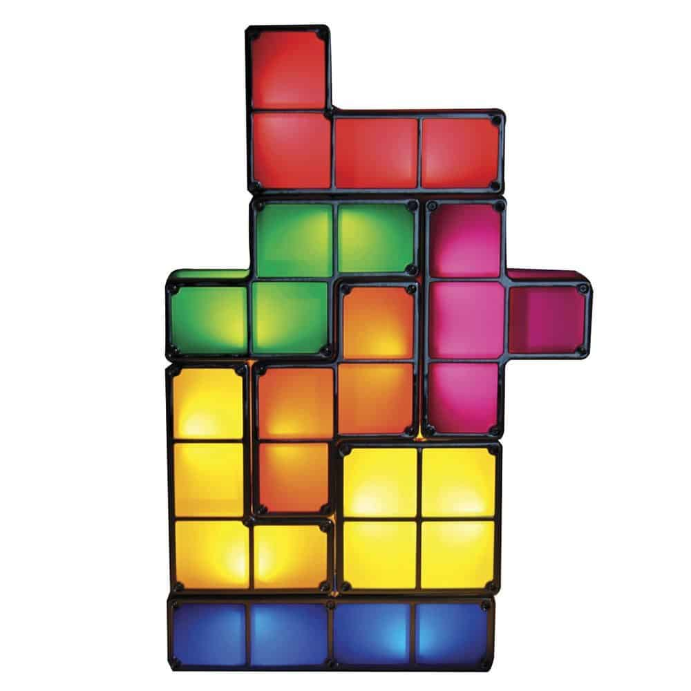Paladone Tetris Light Desk Lamp Unique Gift Idea