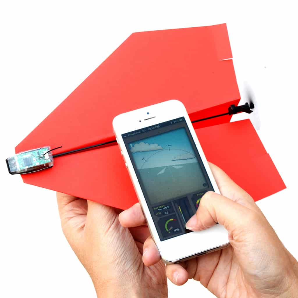 PowerUp 3.0 Smartphone Controlled Paper Airplane Cool Manchild Toy to Buy