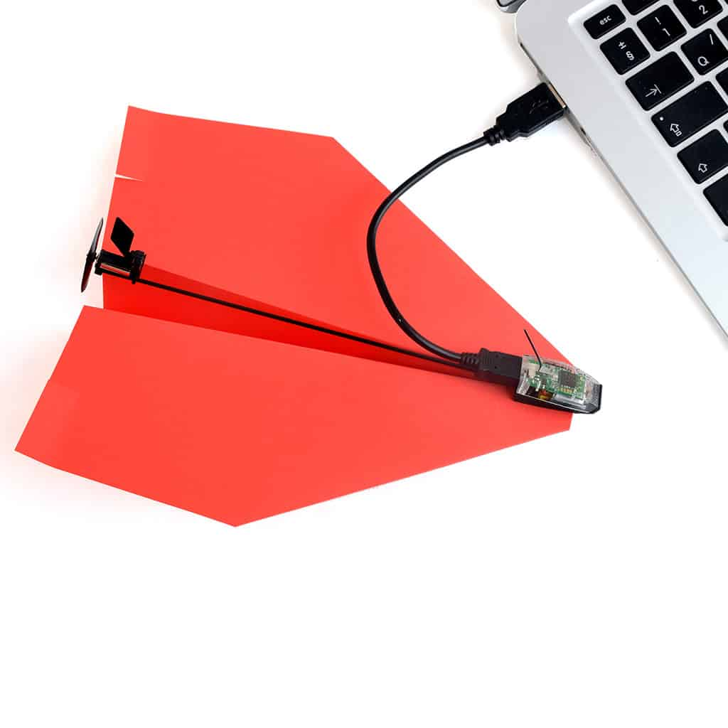 PowerUp 3.0 Smartphone Controlled Paper Airplane Sync With Computer