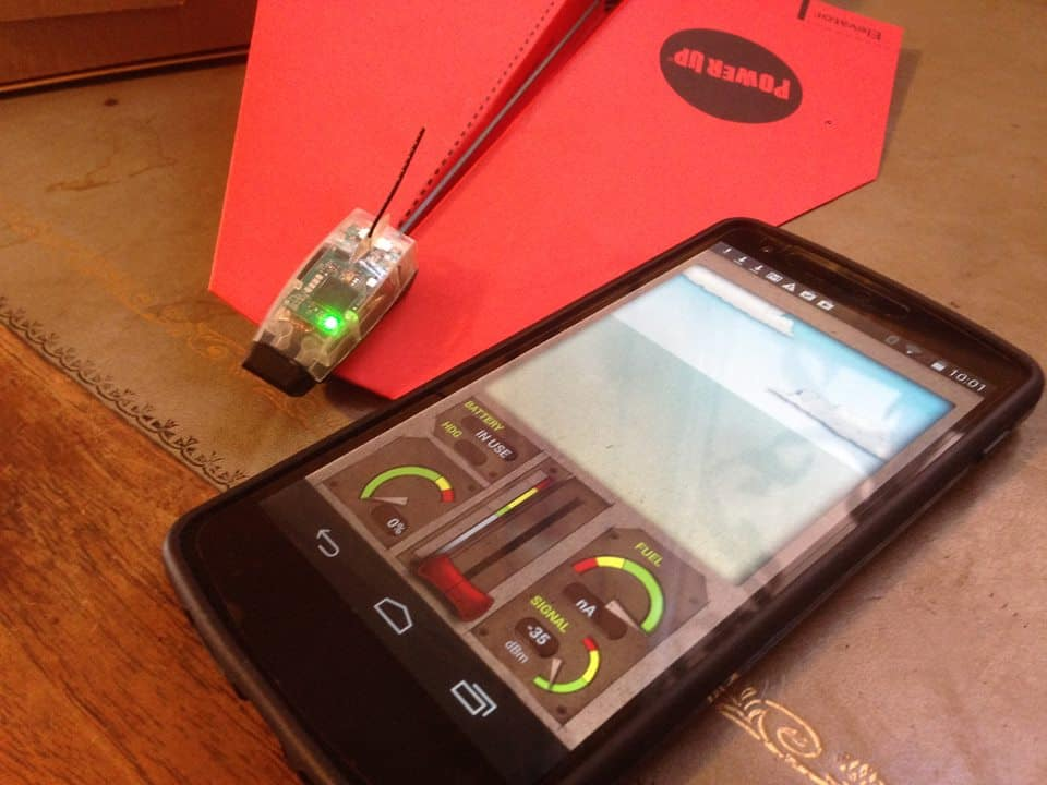 PowerUp 3.0 Smartphone Controlled Paper Airplane iPhone Controls