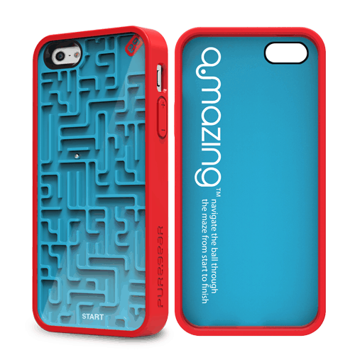 PureGear Gamer Case for iPhone Amazing Blue and Red Cool Gift Idea for Kids