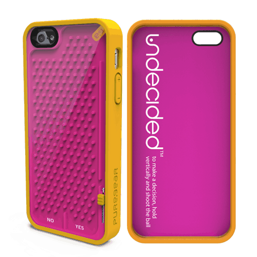 PureGear Gamer Case for iPhone Undecided Pink and Orange Cool Gift Idea for Kids