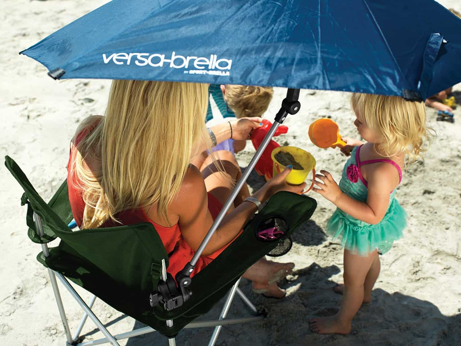 Sport-Brella Versa-Brella All Position Umbrella Portable Sun Shade for Beach