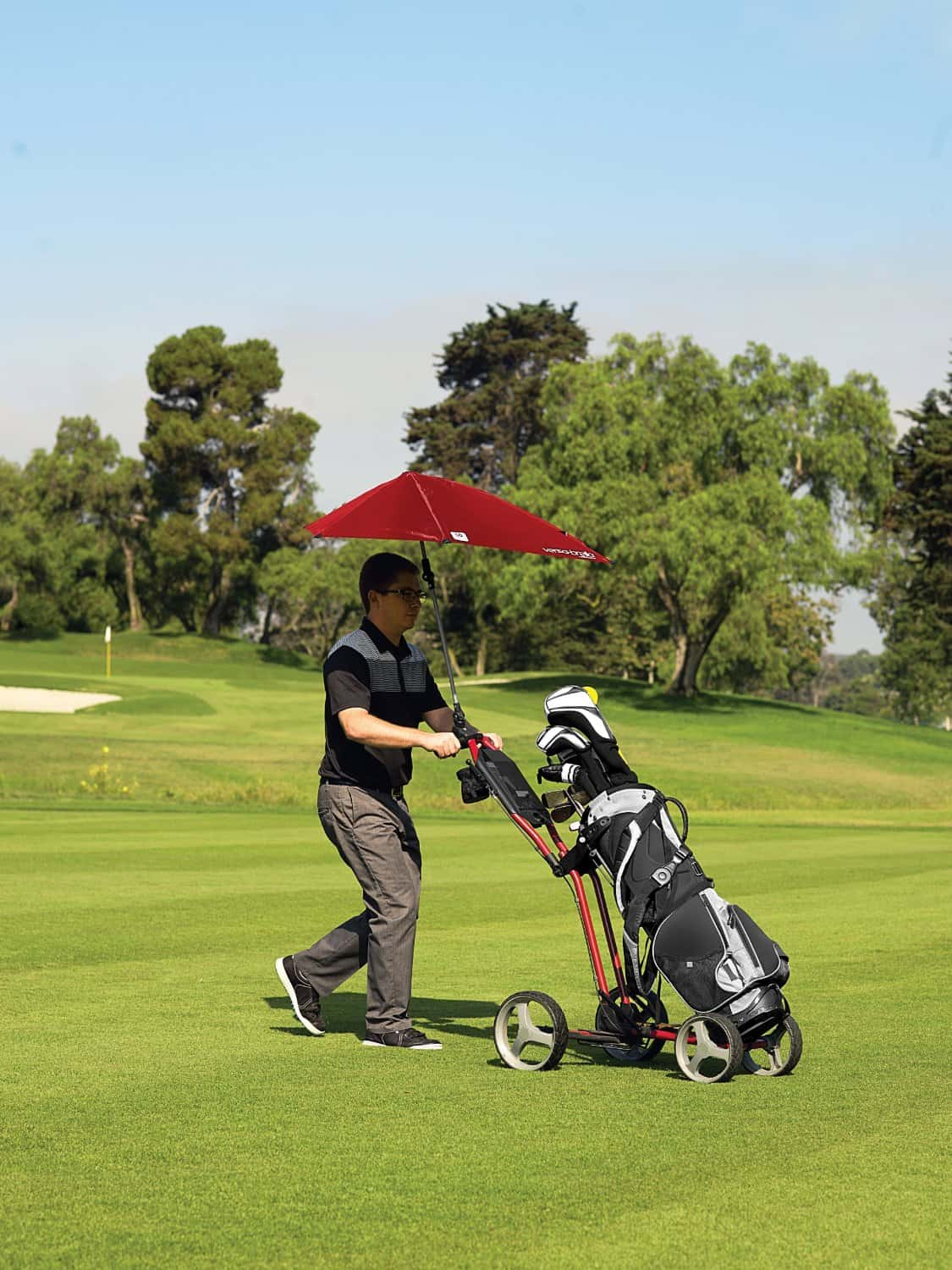 Sport-Brella Versa-Brella All Position Umbrella for Golf