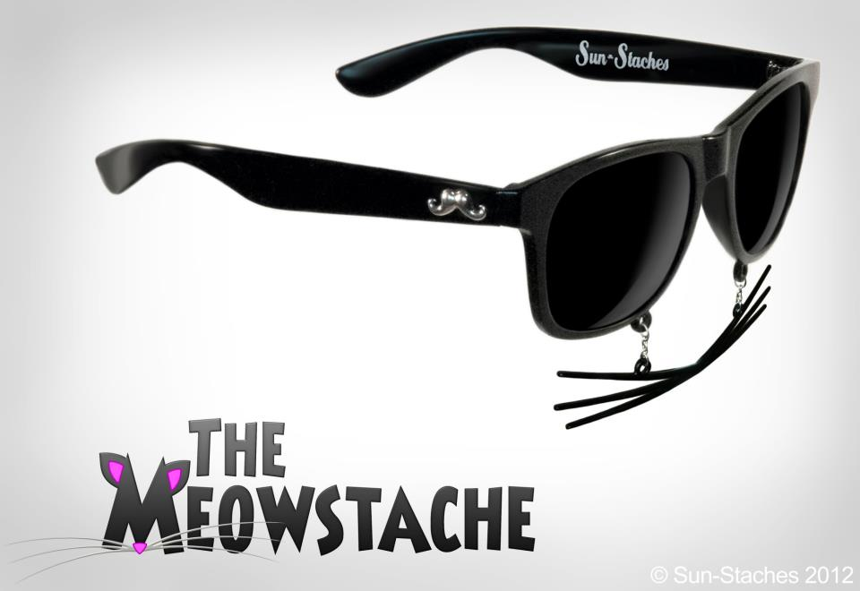 Sun-Stache Sunglasses Buy Cute Stuff Cat Mustache