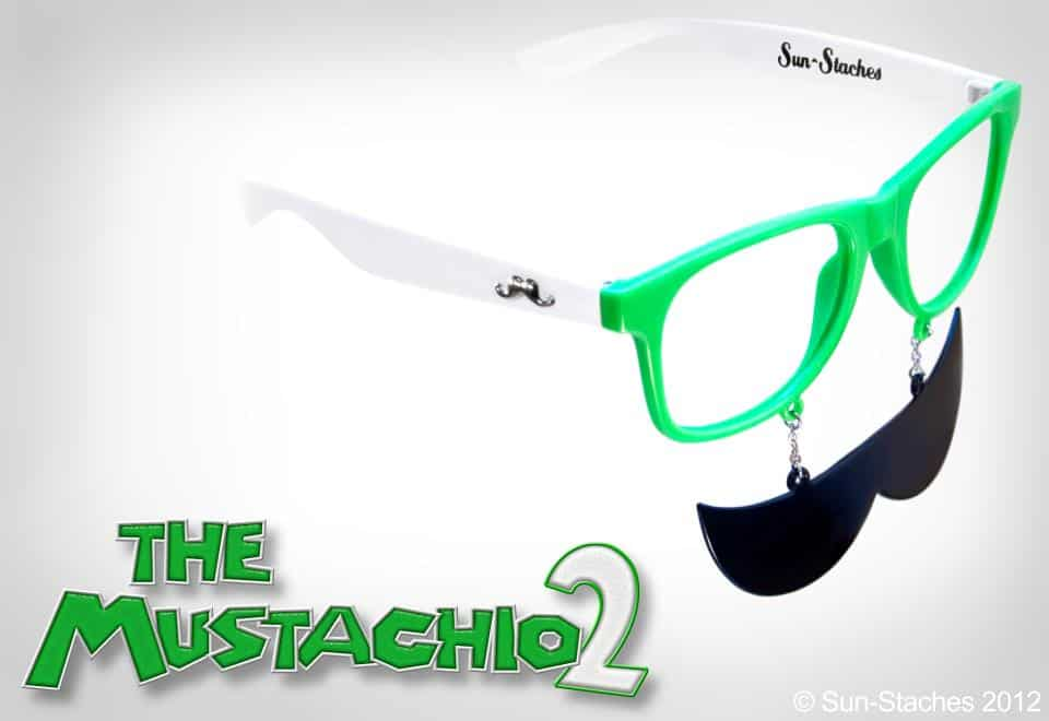 Sun-Stache Sunglasses Buy Mario Mustache