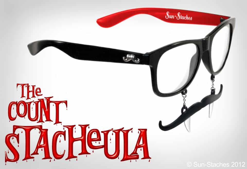 Sun-Stache Sunglasses Buy Simple Dracula Costume for Halloween
