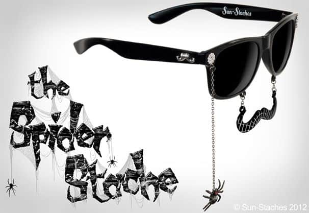 Sun-Stache Sunglasses Buy a Cool Spider Halloween Costume