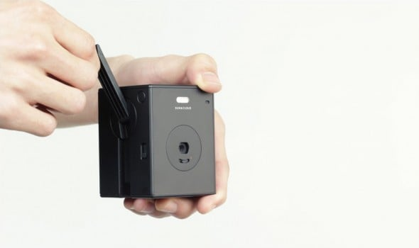 A camera that will never run out of power.