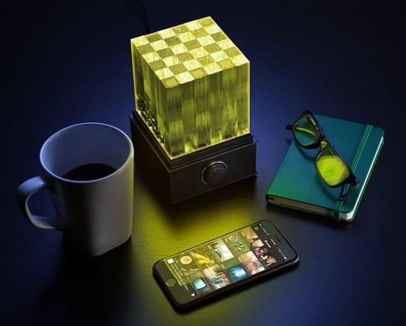 SuperNova Light Cube LED Bluetooth Speaker Unique Gift Idea to Buy