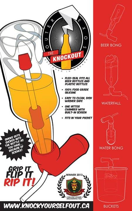 The Knockout Beer Gravity Pipe Buy Unique Gift Idea for Beer Lover