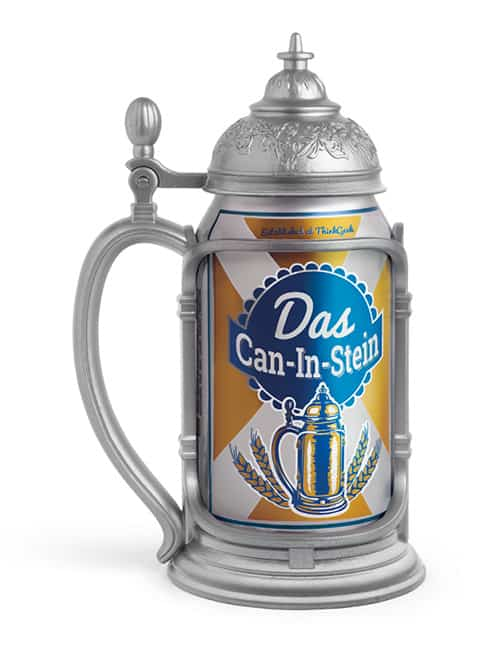 Thinkgeek Das Can-in-Stein German Theme Gift to Buy