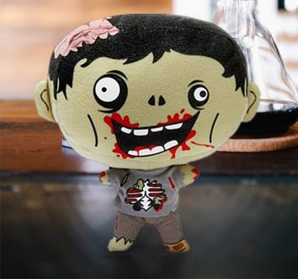 Thinkgeek Feasting Electronic Horror Plush Zombie Cute Gift Idea to Buy for your Kids