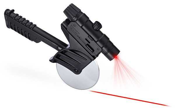 Thinkgeek Tactical Laser-Guided Pizza Cutter Novelty Item