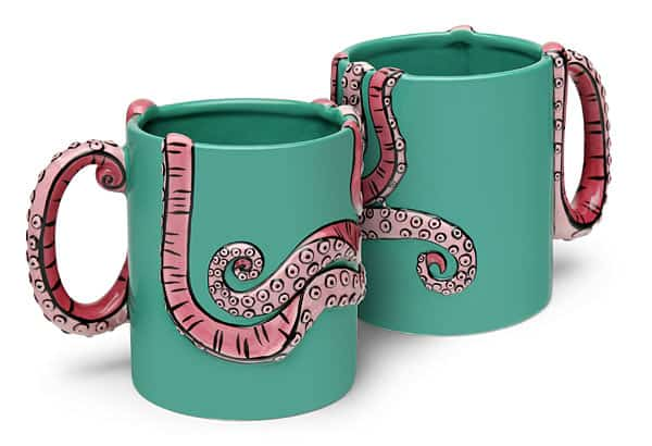 Thinkgeek Tentacle Mug Cute Gift Idea to Buy