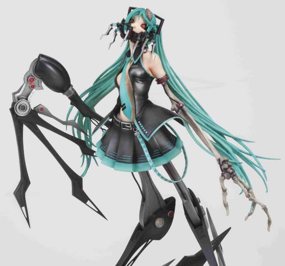 Union Creative H Series Calne Ca Vocaloid Figure Cool Creepy Anime Character
