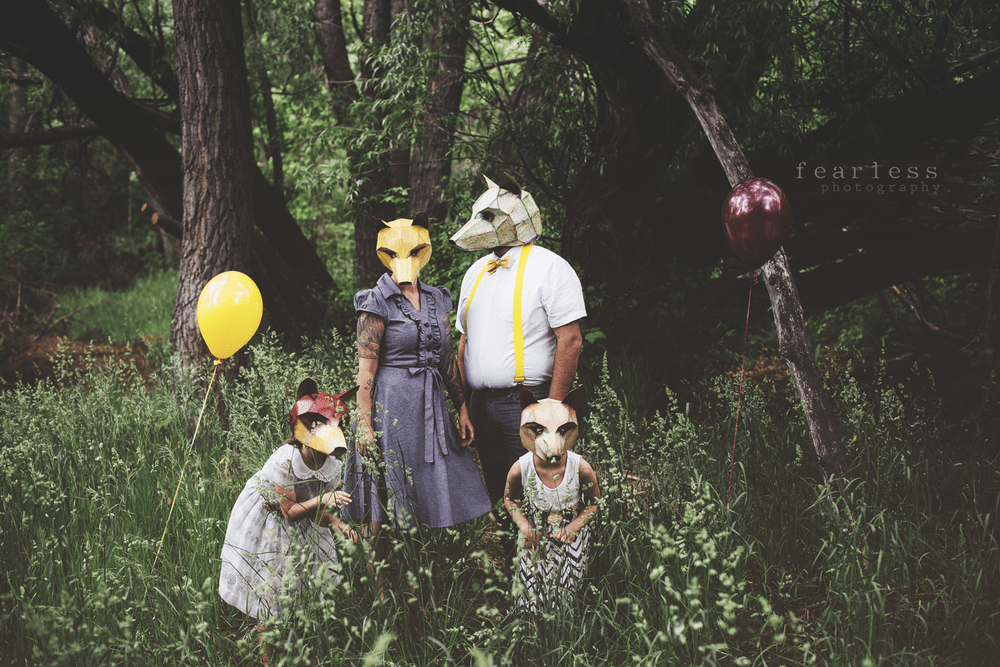 Wintercroft Fox Mask Unique Family Costume