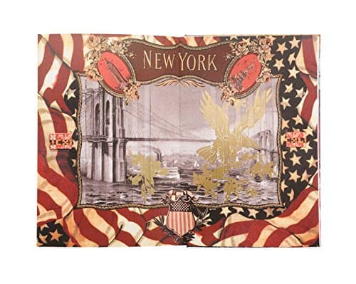 Christian Lacroix Voyage Pop-Up Journal New York Artwork Page