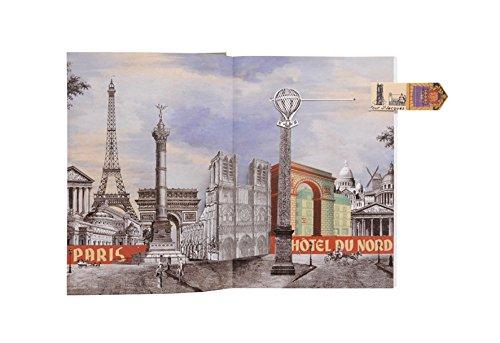 Christian Lacroix Voyage Pop-Up Journal Paris Artwork Page