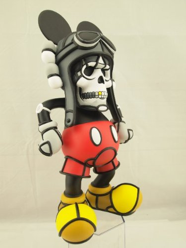 Deathshead Designer Vinyl Figure by David Flores Weird Mickey Mouse