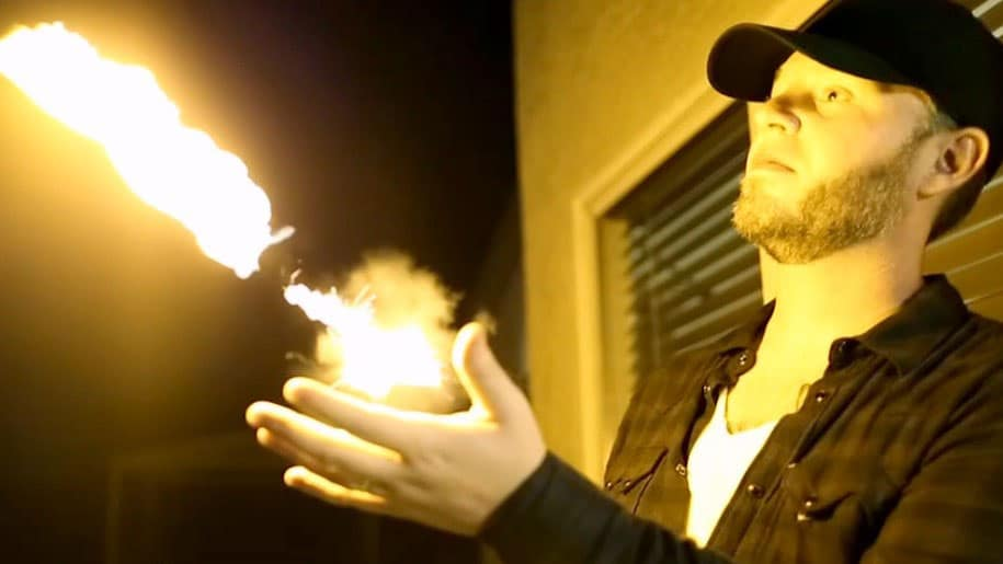Ellusionist Pyro Fireshooter Magic Props Fireball