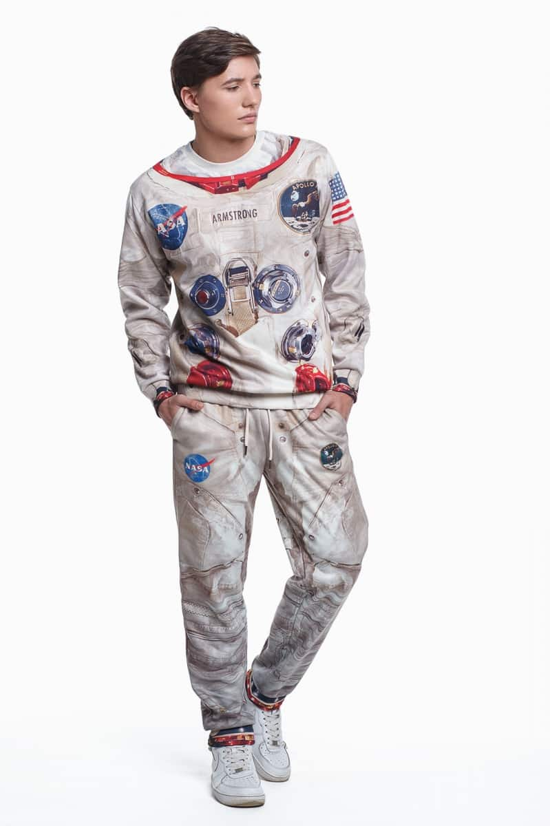 Fusion Apollo 11 Printed Suit Novelty Item