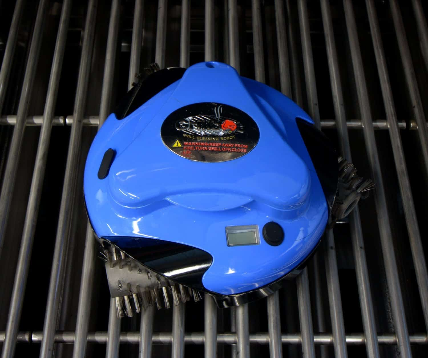 Grillbot Automatic Grill Cleaning Blue for Barbeques
