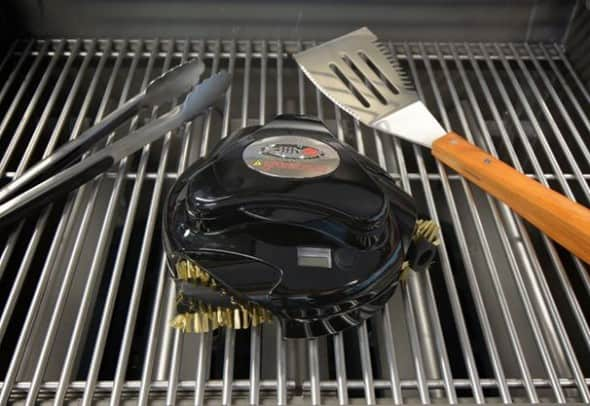 Clean that grill with a push of a button.