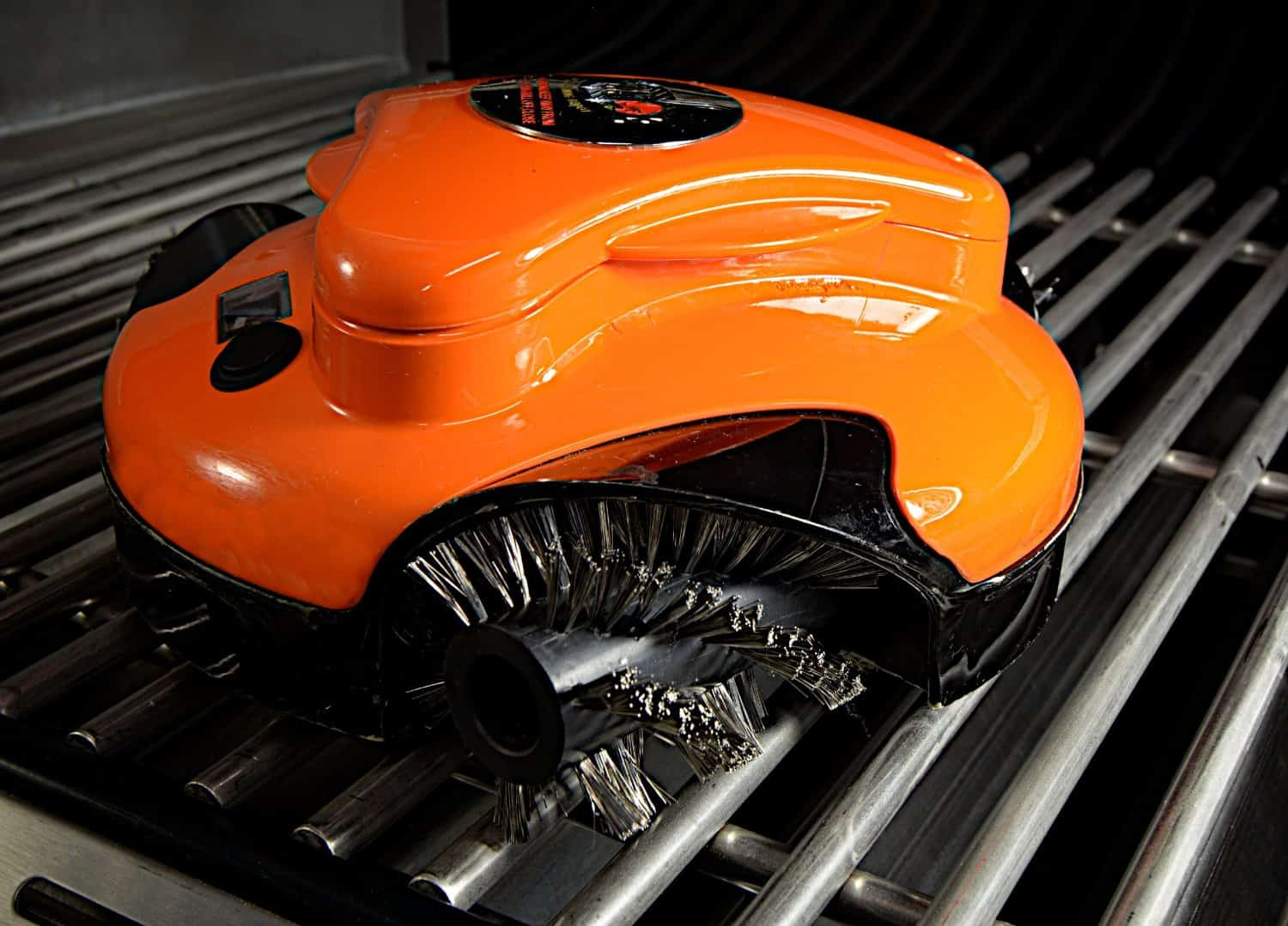 Grillbot Automatic Grill Cleaning Maintenance Orange