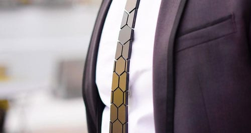 Hextie-Honeycomb-Space-Black-Tie-Style-for-Men