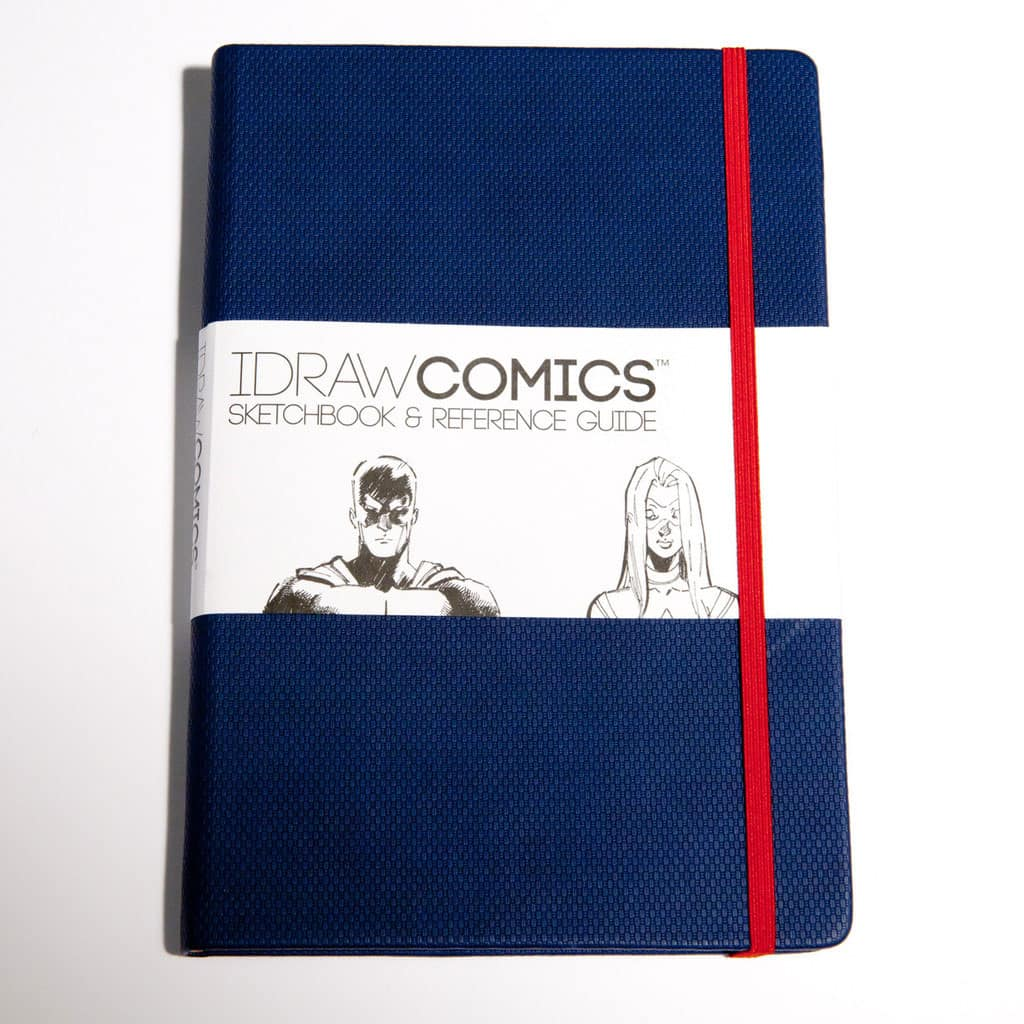 I Draw Comics Sketchbook and Reference Guide Buy Gift for Artist and People who like to Draw