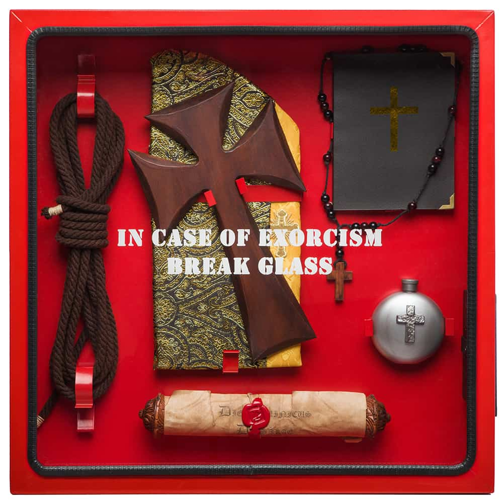 ICO Break Glass in case of Cabinets Exorcism Kit