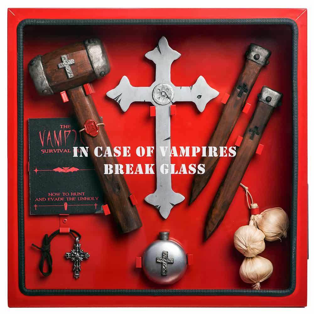 ICO Break Glass in case of Cabinets Vampire Fan Gift Idea