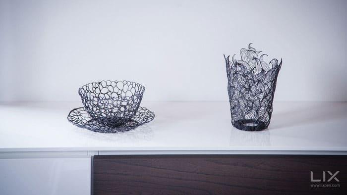 Lix 3d Printing Pen Plastic Printed Glass
