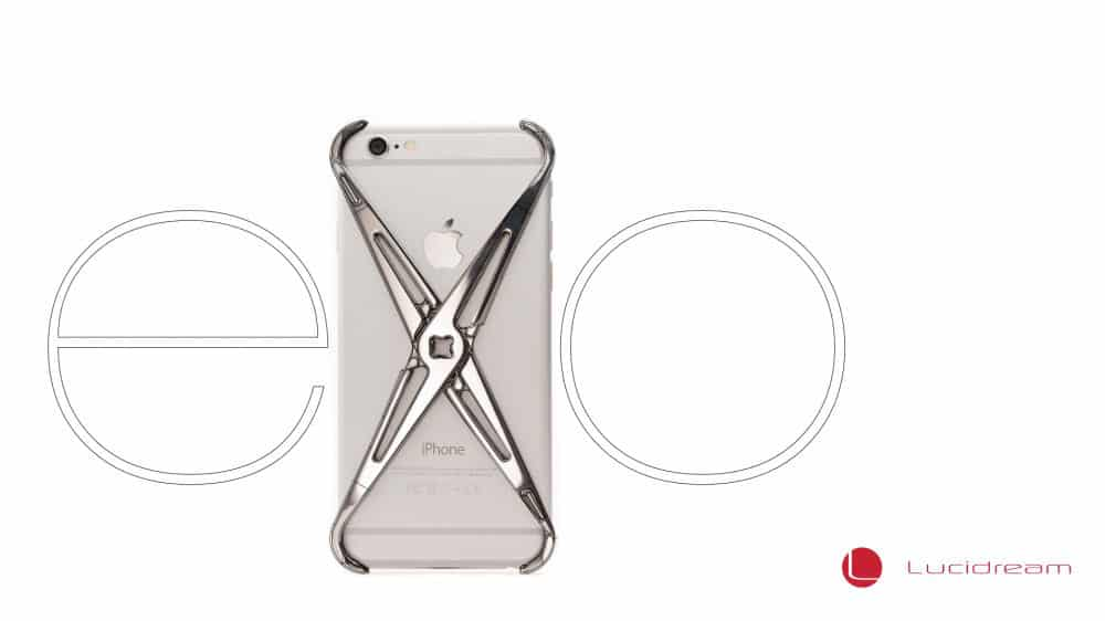 Lucid Dream Exo iPhone Case Minimalist Design
