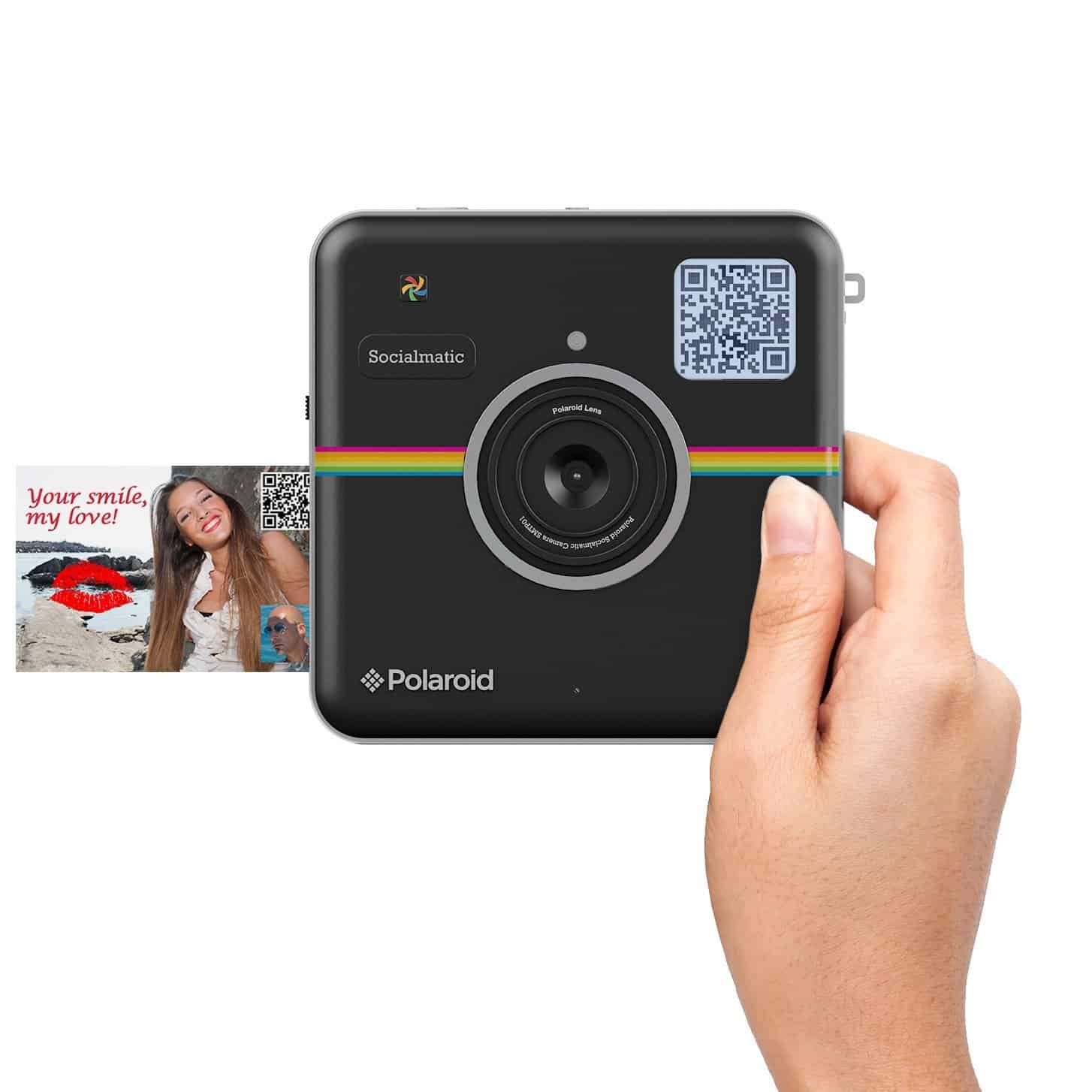 Polaroid Socialmatic Instant Digital Camera Black Cool Stuff to Buy