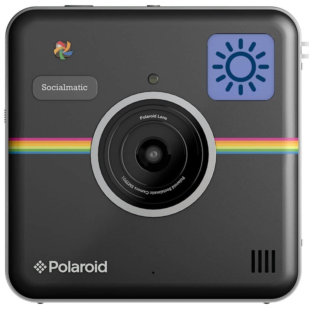 Polaroid Socialmatic Instant Digital Camera Retro Style