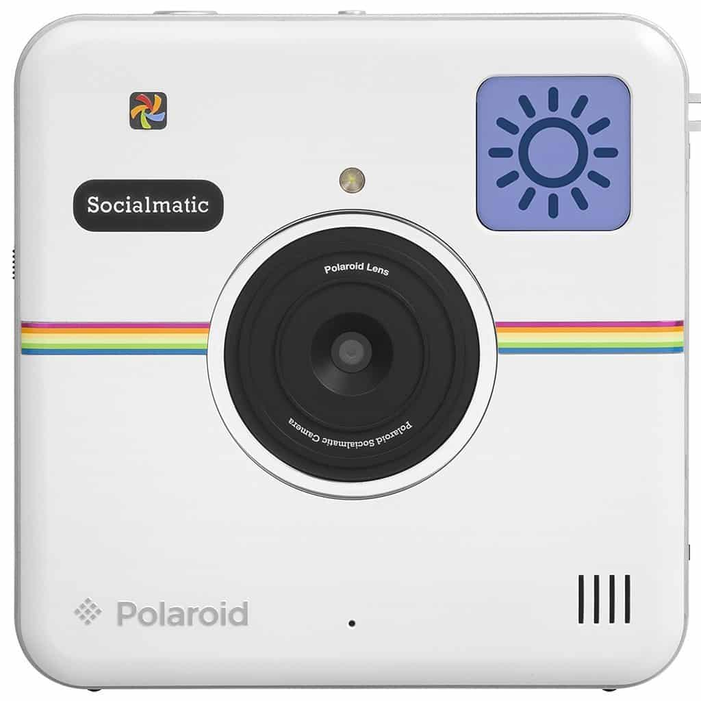Polaroid Socialmatic Instant Digital Camera Vintage Style