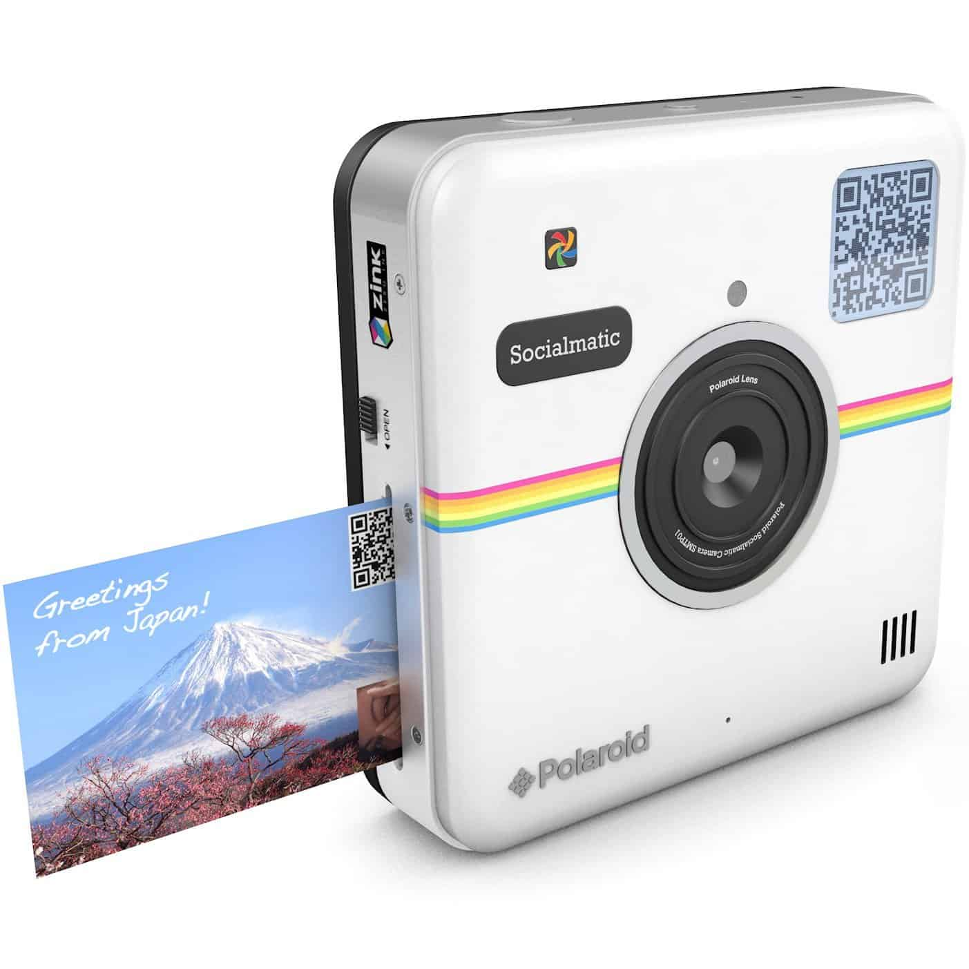 Polaroid Socialmatic Instant Digital Camera White Cool Stuff to Buy
