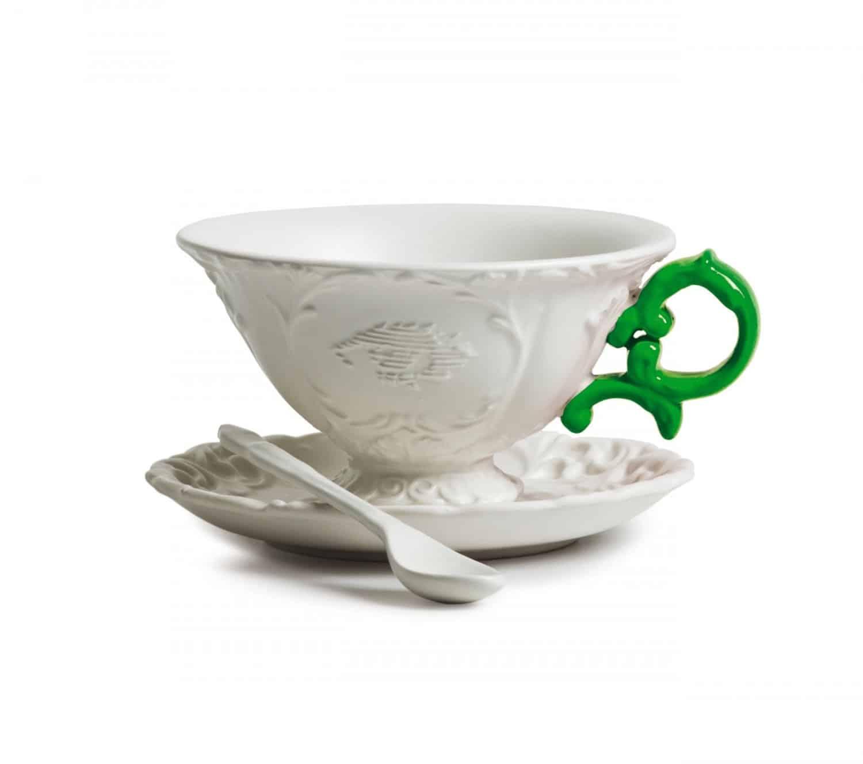 Seletti I Tea Cup Green Fancy Design