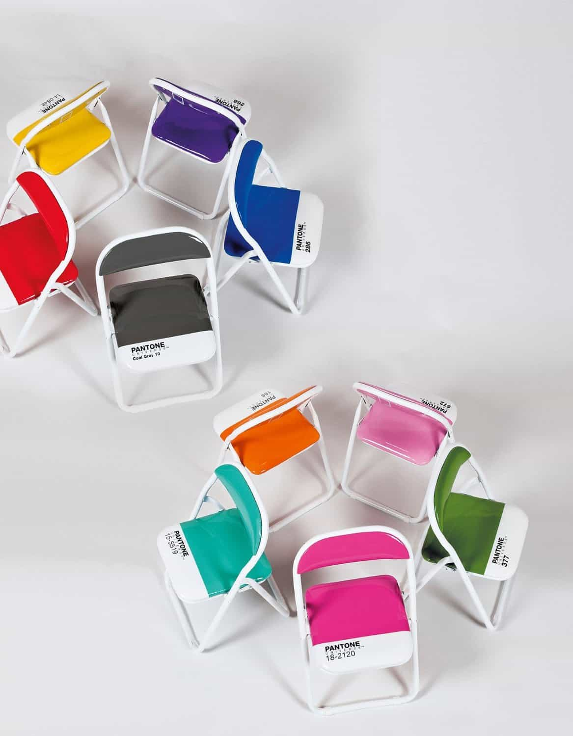 What is the color of your folding chair Seletti Pantone Chair   NoveltyStreet. Pantone Folding Chairs For Sale. Home Design Ideas