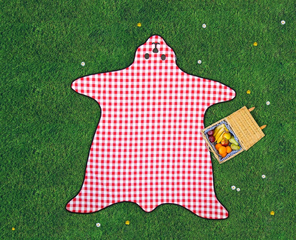 Suck UK Bear Skin Picnic Blanket Cute Outdoor Stuff to Buy