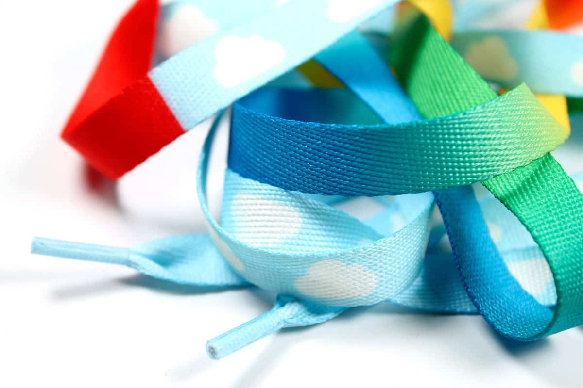 Suck UK Crazy Laces Rainbow Buy Cheap and Cute Gift Idea
