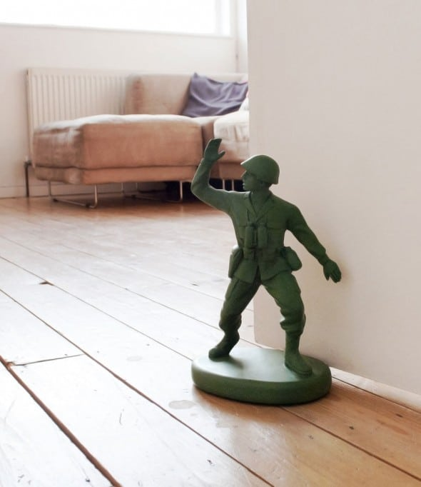 Suck UK Homeguard Soldier Door Stop Cool Gift to Buy Kids
