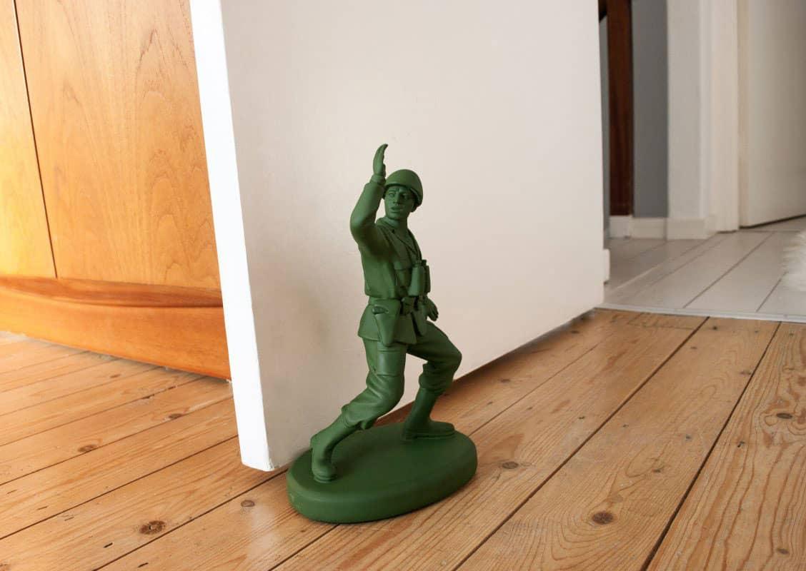 Suck UK Homeguard Soldier Door Stop Cool Stuff to Buy Him