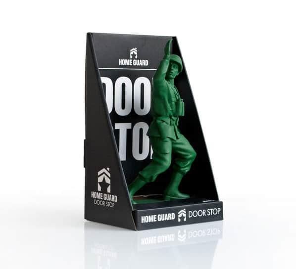 Suck UK Homeguard Soldier Door Stop Packaging