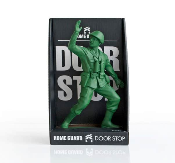 Suck UK Homeguard Soldier Door Stop Playful Novelty Item