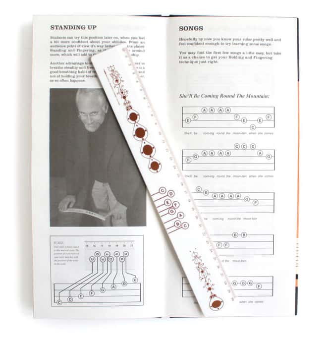 Suck UK Musical Ruler  and Song Book